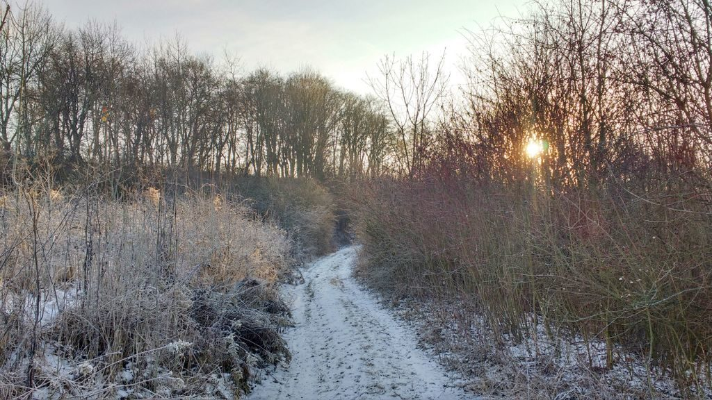 Idzie się dalej i zimą!