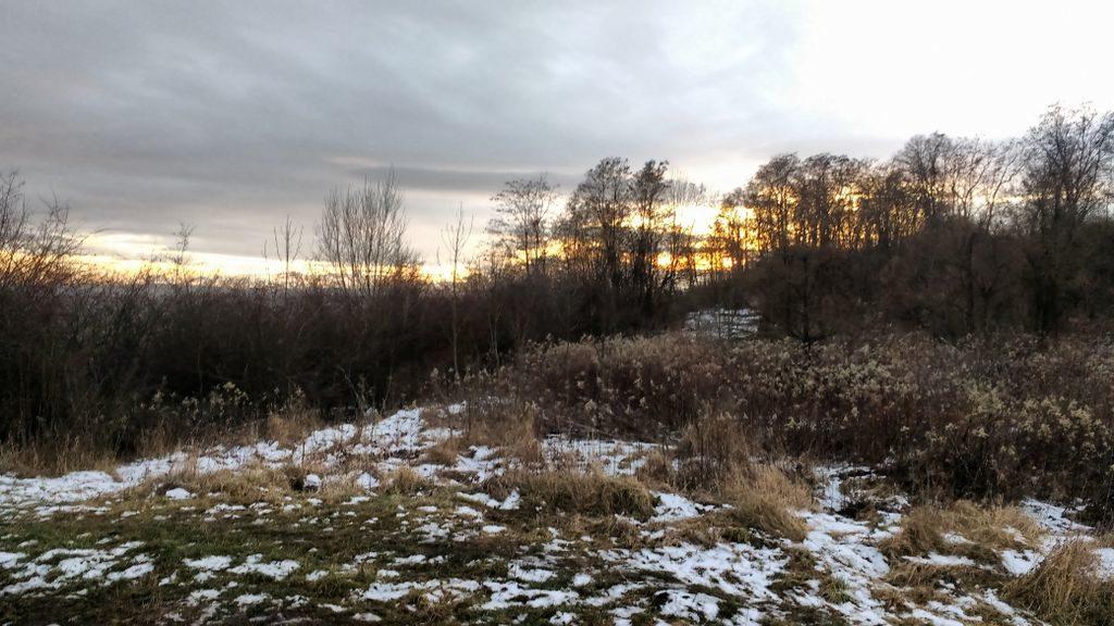 Kolorowo i jasno na wczesne zimowe dobranoc Słonko.